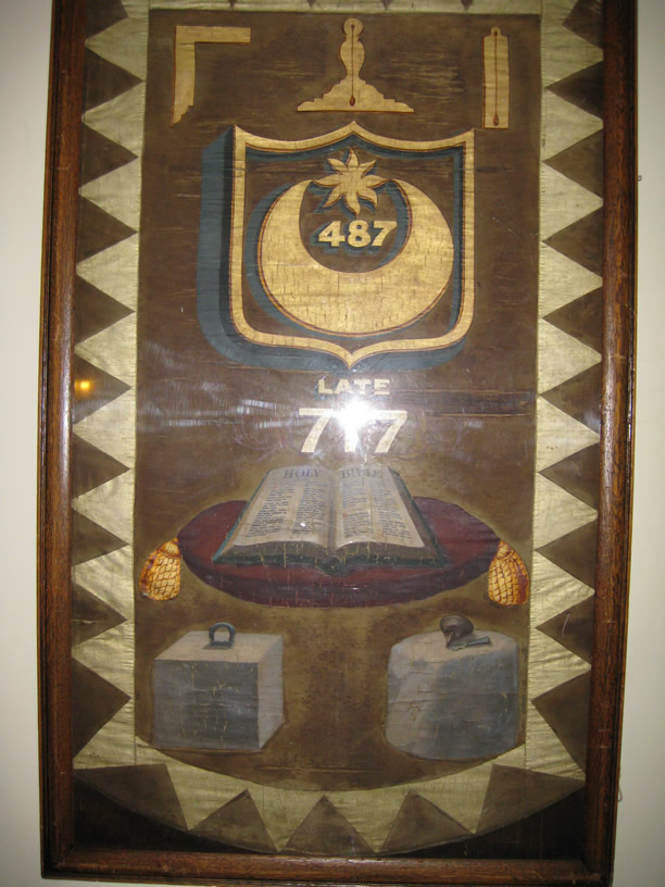 The Portsmouth Lodge No 487 Banner
